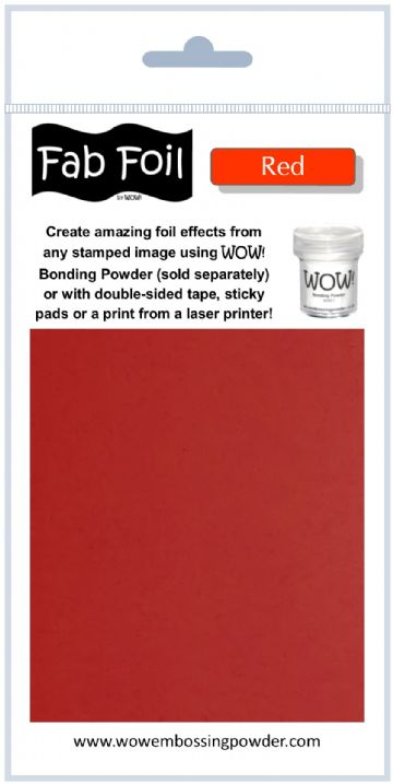 WOW! Fab Foil - Red